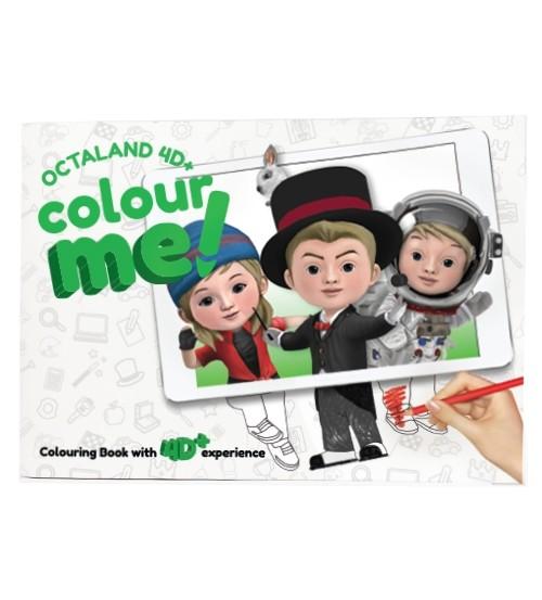 Foto Produk Octaland 4D+ Color Me! Book -Mewarnai AR Octaland dari DFD Shopping Online