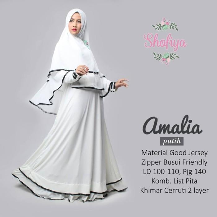 Jual Gamis Amalia Syar I Warna Putih Princess Rapunzel Tokopedia