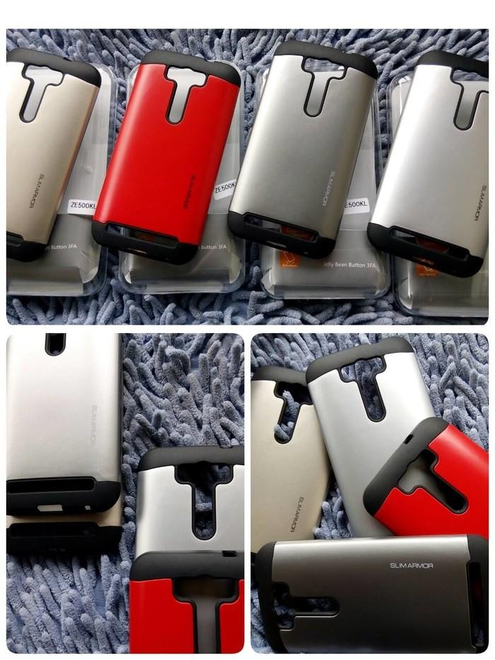 harga Spigen armor asus zenfone selfie zd551kl hardcase cover Tokopedia.com