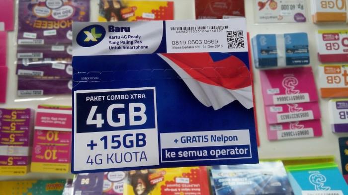 Jual Perdana Xl 19gb Kuota Internet Xl 4 Gb 15gb Alternatif Xl 5