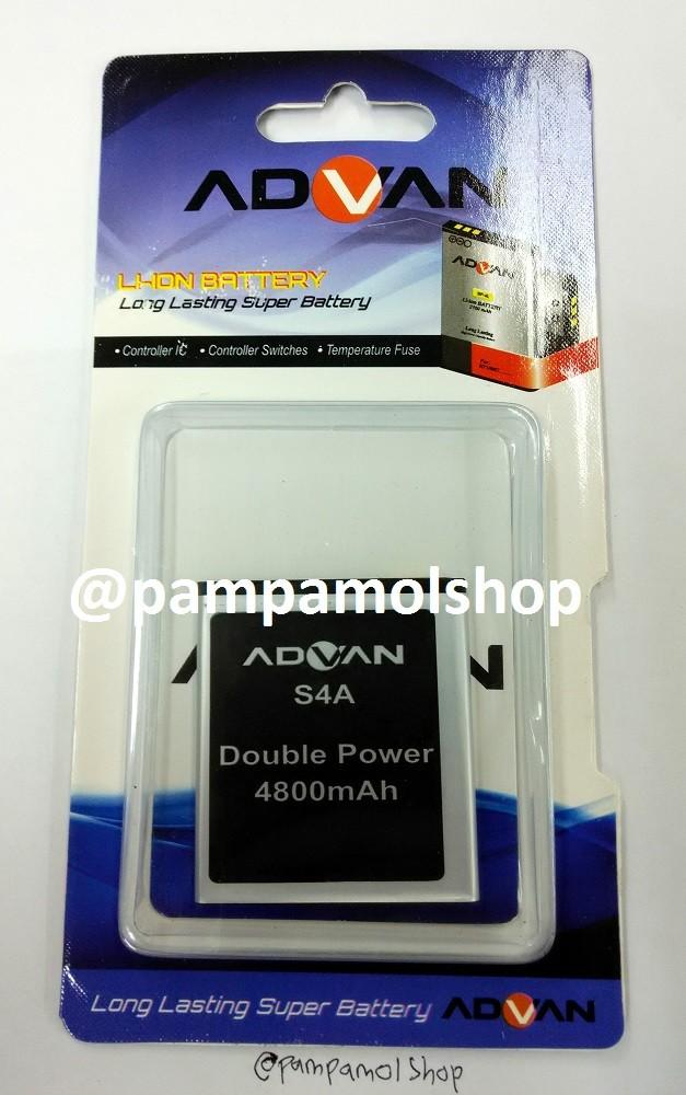 harga Baterai handphone advan s4a double power   batrai batre battery dual Tokopedia.com
