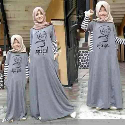 Jual Baju Muslim Couple Ibu Dan Anak Perempuan Kab Lumajang Ve Fashion Tokopedia