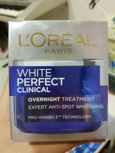harga L'oreal white perfect clinical overnight treatment 50 ml loreal Tokopedia.com