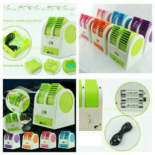 harga Ac mini portable double fan Tokopedia.com