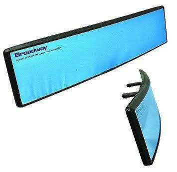 "Kaca Spion Tengah BROADWAY ""Blue Convex Mirror"" 300mm"