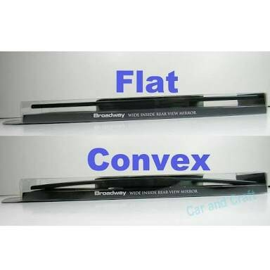 "Kaca Spion Tengah BROADWAY ""Blue Flat Mirror"" 300mm ..."