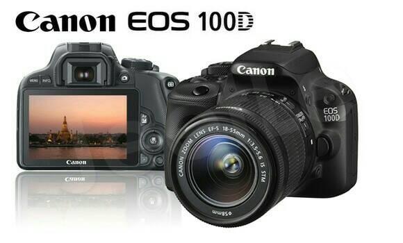 harga Canon eos 100d kit 18-55 is stm / canon eos 100 d kit Tokopedia.com