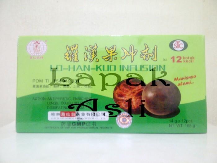 harga Lo han kuo infusion - meredakan panas dalam Tokopedia.com