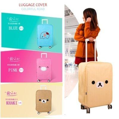 Luggage Cover KARTUN LUCU SERIES Sarung Penutup Pelindung Koper Travel