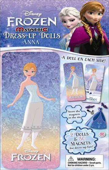 harga Disney frozen anna magnetic dress-up dolls tin box Tokopedia.com