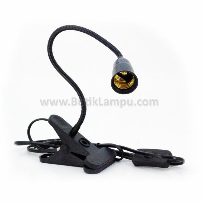 Foto Produk Lampu Meja Jepit Fleksibel AR79-30CM Hitam dari butiklampu