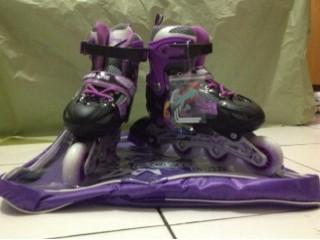 harga Sepatu roda inline skate power line warna ungu s m l Tokopedia.com