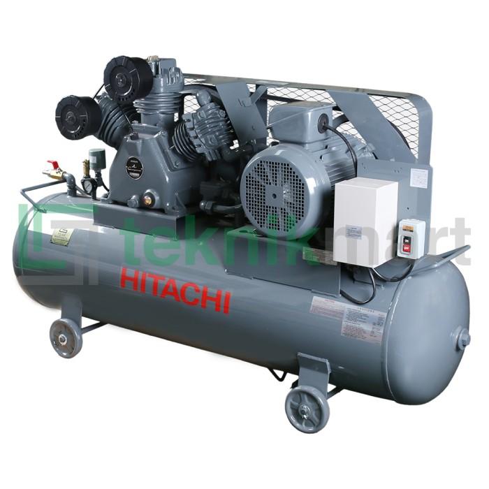 hitachi compressor. kompresor angin / air compressor hitachi 15hp 3phase