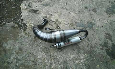 harga Knalpot racing kiri vespa by prp model mdm Tokopedia.com