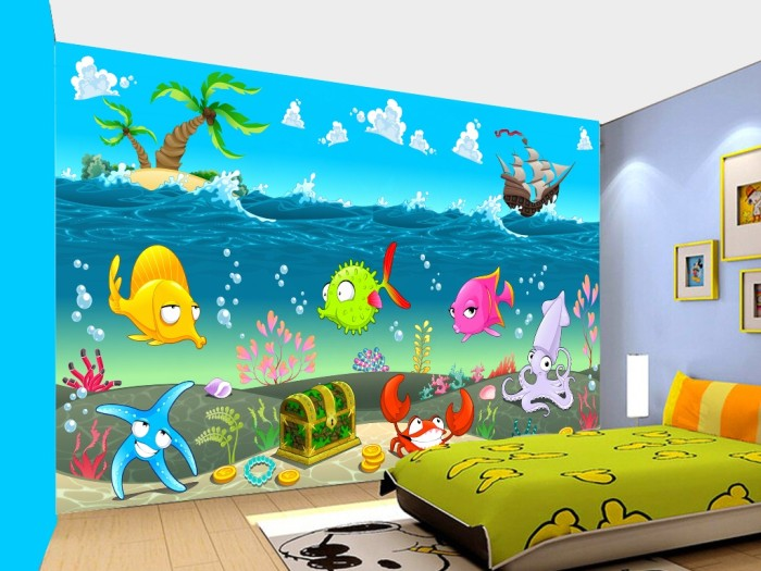 Download 7700 Wallpaper Dinding Cartoon HD Paling Keren