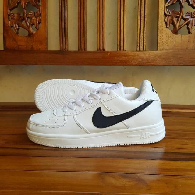 buy popular bb183 bdea1 sepatu nike air force one putih hitam vietnam 36-40
