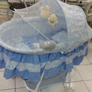 harga Pliko oval 608 a box bayi tempat tidur paling murah Tokopedia.com