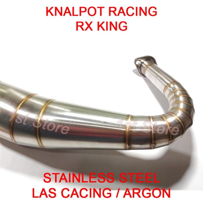 harga Knalpot racing rx king rxz rxs rxking 3v3 kolong telo 2tak stainless Tokopedia.com