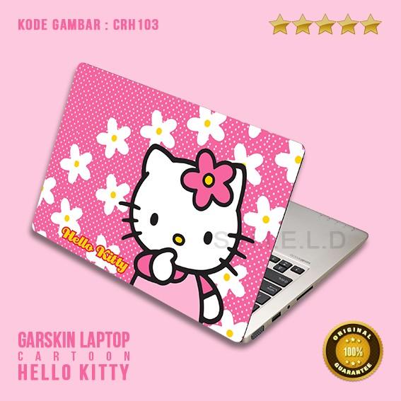 b3ff60332 Jual Garskin / Skin / Cover / Stiker Laptop - Cr Hello Kitty 3 ...
