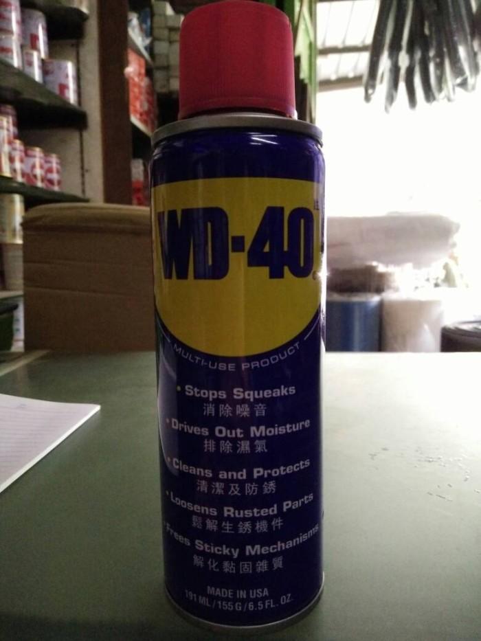 Wd 40 spray 191ml / pelumas anti karat / pembersih karatan