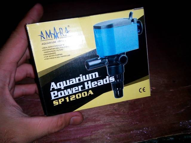 Jual Pompa Mesin Aquarium Power Head AMARA SP 1200 - Kota ...