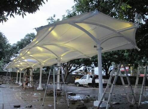 Jual Atap Tenda Membrane Tensile Di Mataram Lombok Bali Indosemeru