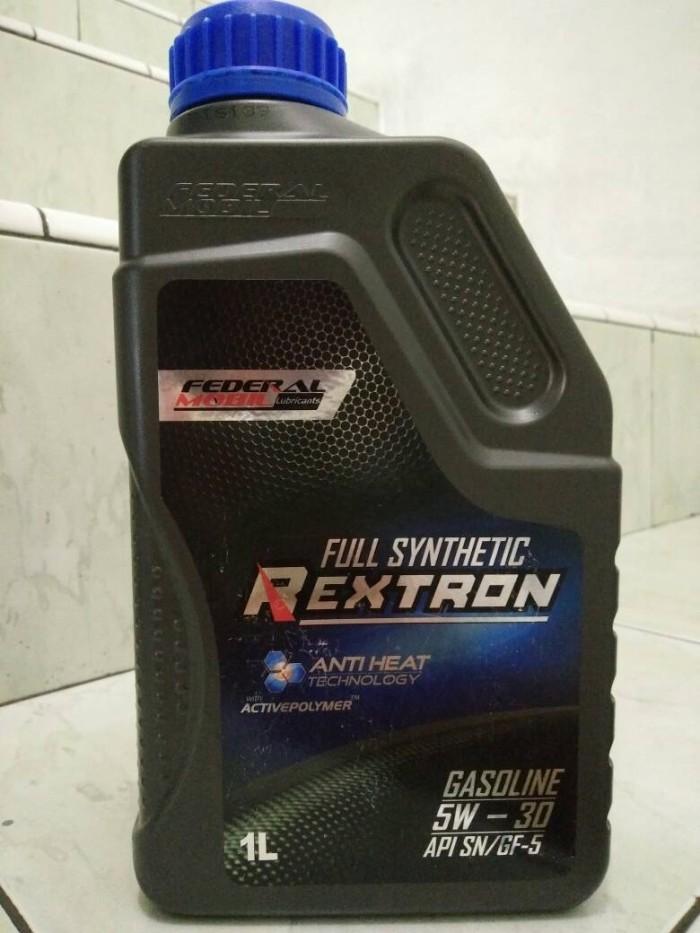 Jual Oli Federal Mobil Rextron Sae 5w 30 Api Sn Gf 5 Full Synthetic 1l Jakarta Barat Atpm Oil And Lubricant Tokopedia