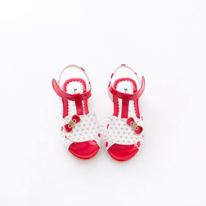 harga Hello kitty head red polka casual shoes/sandal sepatu hello kitty Tokopedia.com