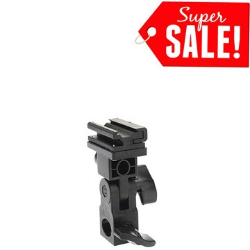 harga Type b flash hot shoe umbrella holder mount bracket for speedlite Tokopedia.com