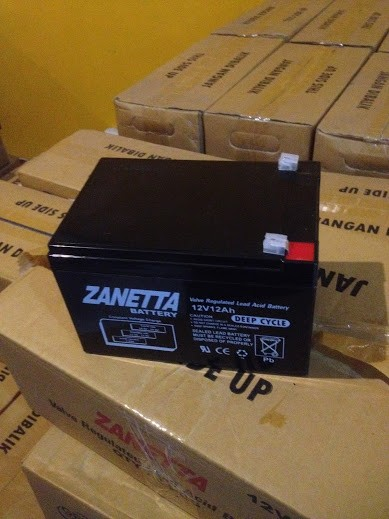 harga Aki kering sepeda listrik 12v 12ah garansi Tokopedia.com
