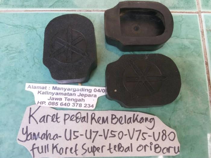 harga Karet pedal rem belakang yamaha u5-u7-v50-v75-v80 Tokopedia.com