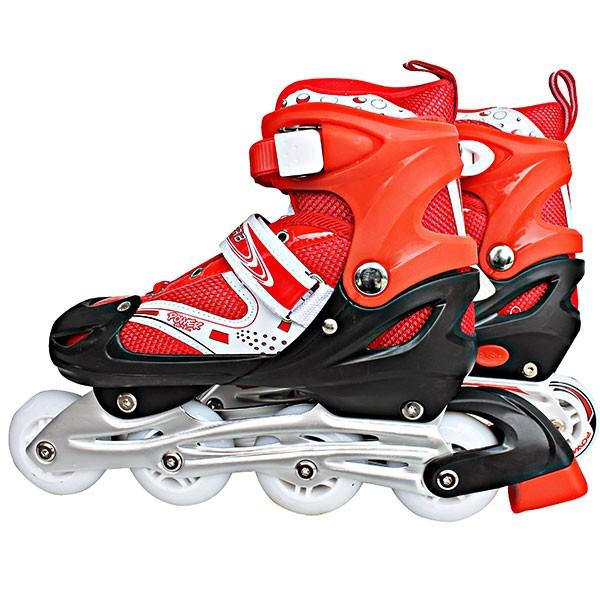 Kado Sepatu Roda Merah POWER LINE INLINE SKATE MERAH Sepatu Roda Keren c826ae240d