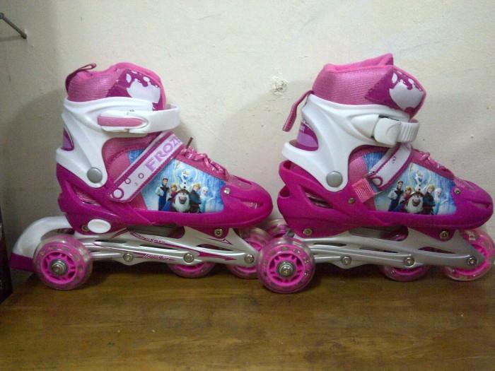 Jual Sepatu Roda Model Bajaj Frozen Dan Little Poni Jakarta