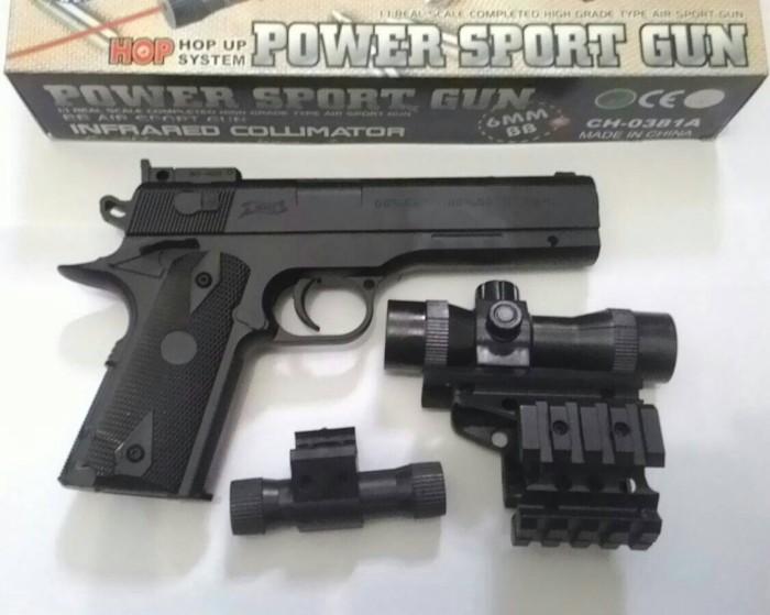 Jual Airsoft Gun Pistol Fn 1911 Spring Murah Kota Medan Penembak Jitu Tokopedia