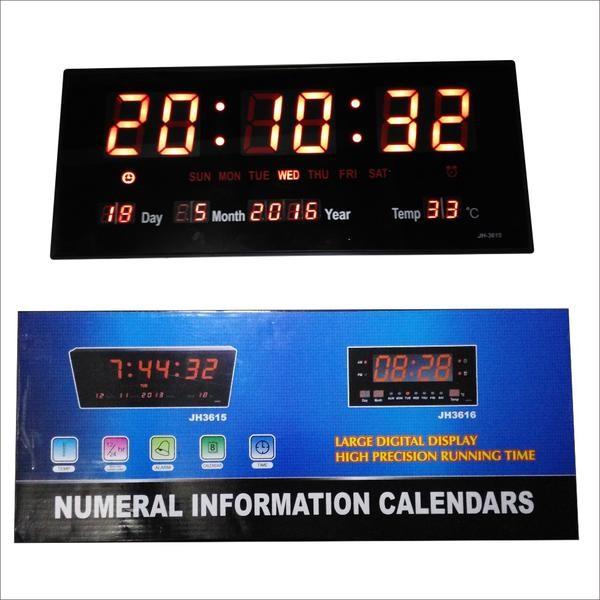 Jual jam dinding digital led jh 3615 cek harga di PriceArea.com 6f05c34717