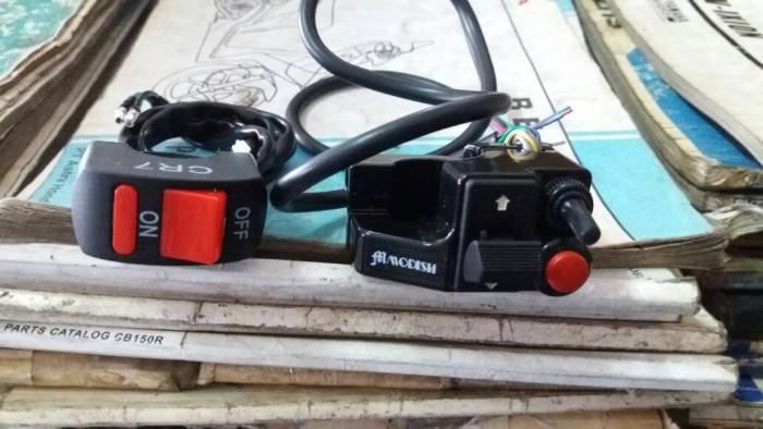 harga Saklar kiri dan kanan variasi japstyle cafe racer dll Tokopedia.com