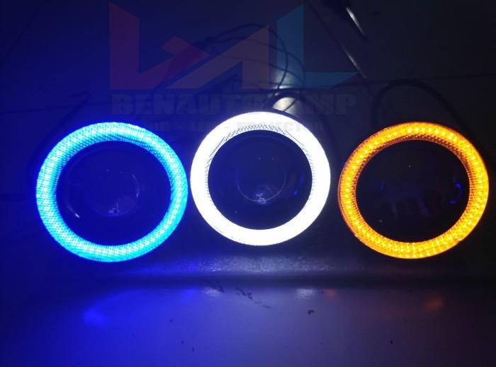 harga Lampu led projector foglamp angel eyes luxeon 10w 1200lumens 12v dc Tokopedia.com