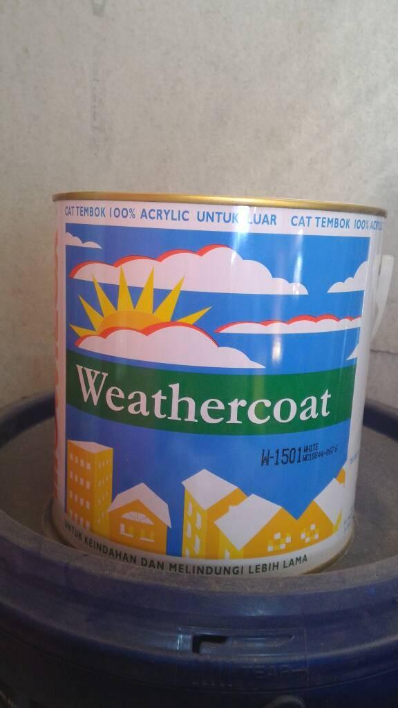 harga Cat tembok mowilex weathercoat (2.5 l) Tokopedia.com