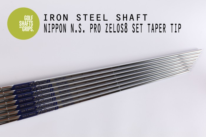 harga Nippon ns pro zelos 8 taper tip steel shaft iron set #5~pw (375~350) Tokopedia.com