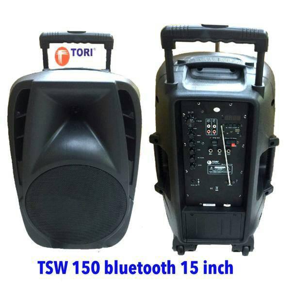 harga Murah speaker portable amplifier pa tori tsw150 bluetooth 15inch Tokopedia.com