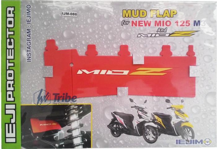 harga Mud flap / mud guard mio 125 m3 & mio z - aksesoris motor yamaha Tokopedia.com