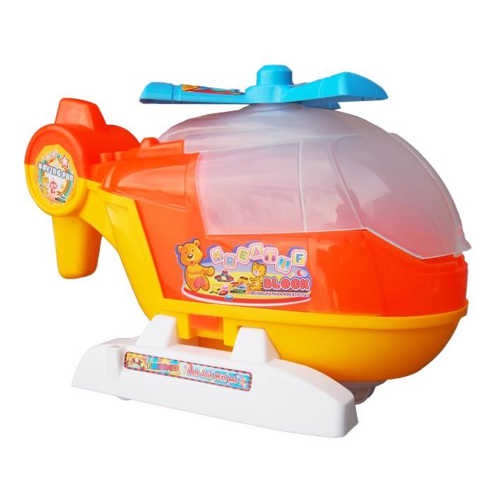 Jual Ocean Toy Kreatif Block Helikopter Mainan Edukasi Anak OCT9103 - Ocean Toy Indo - OS   Tokopedia