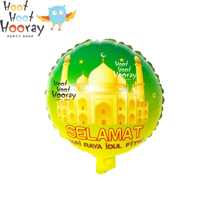 Jual Balon Foil Mini Lebaran Idul Fitri Balon Lebaran Balon