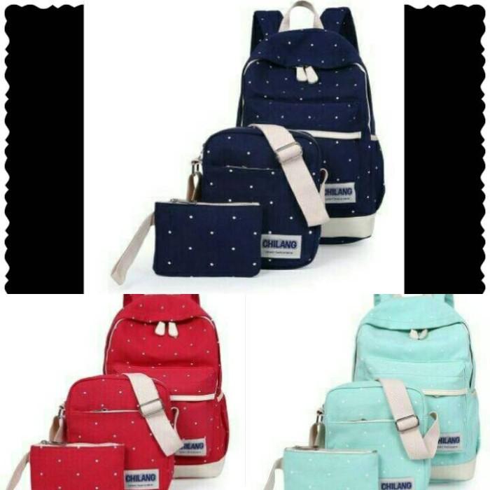 tas ransel 3 in 1 wanita - fashion bag -T2020720