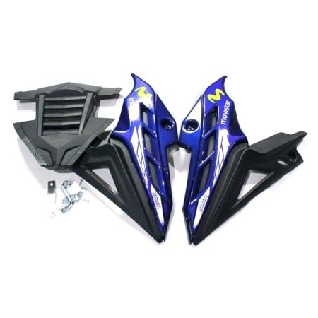harga Tutup mesin vixion biru aksesoris body motor murah Tokopedia.com