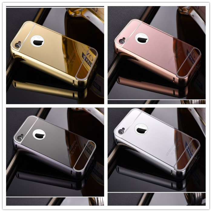 BUMPER MIRROR IPHONE 4G/4S Back Hard Case Cover Casing IPHONE 4G/4S