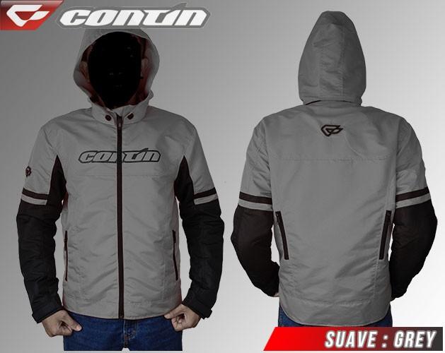 Jual Jaket Contin Suave Jaket Touring dan Biker Grey - Orion 21 Shop ... d8e2c60dbd