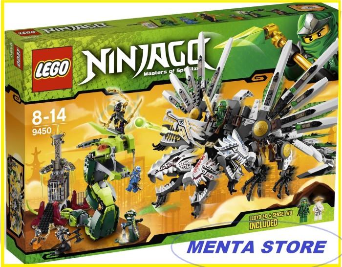 Jual Lego Ninjago 9450 Epic Dragon Battle Green Ninja Go Ultra