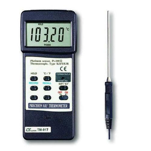 Foto Produk Lutron TM-917A - Precision Thermometer - NON GARANSI dari DUTA PERSADA Instruments