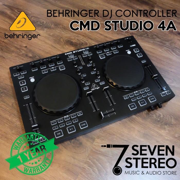 harga Behringer dj controller cmd studio 4a (best seller) Tokopedia.com
